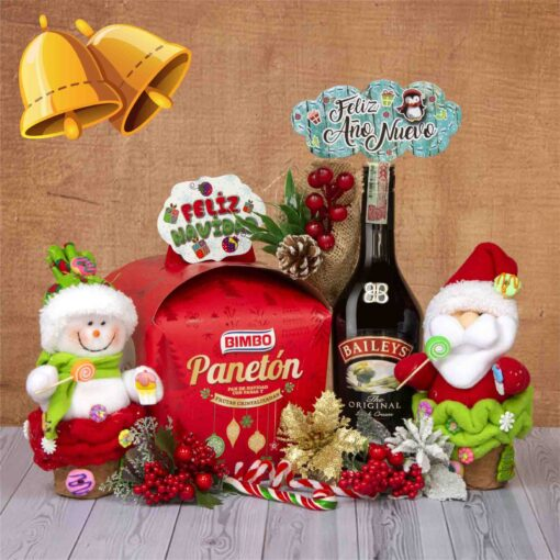 Ancheta Feliz Navidad-Regalos para tus sorpresa