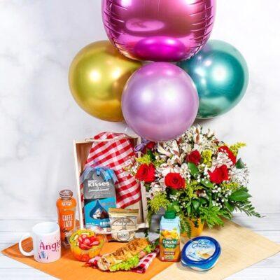 desayunos sorpresa con rosas