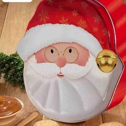 galletas en estuche de papa noel-desayunos navideños bogota