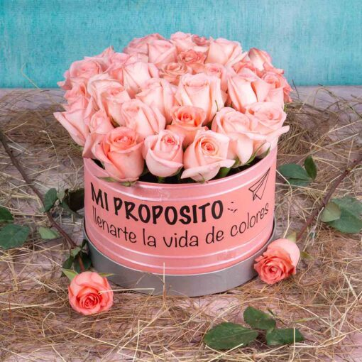 Bouquet Flores-desayuno sorpresa para mujer