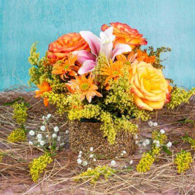 Bouquet Base Piedra-desayunos sorpresa