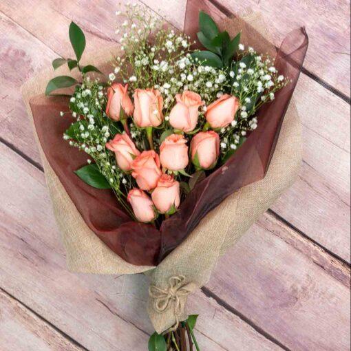Ramo de rosas para mujer