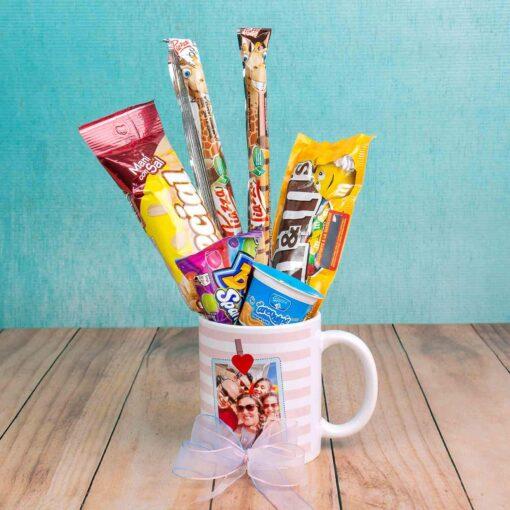 Mug Decorados con Dulces-Regalos sorpresa Bogotá