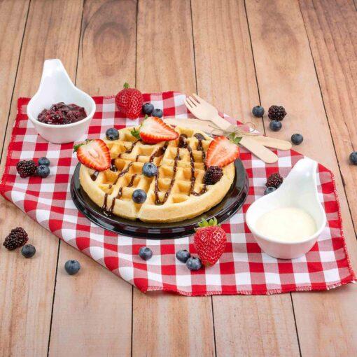 waffles- desayuno sorpresa para mujer