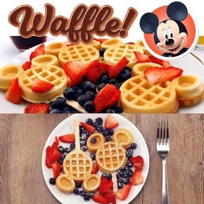 Waffles Mickey tus sorpresas