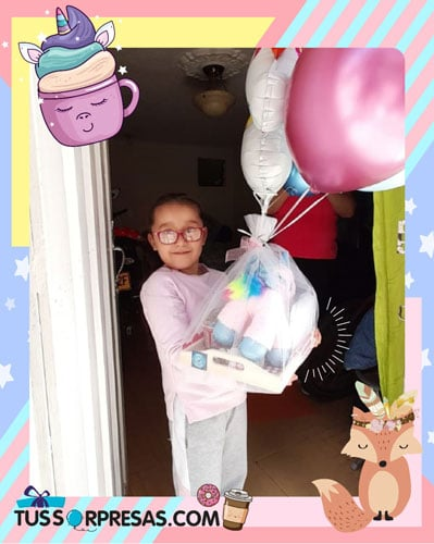 desayunos sorpresas para princesas con unicornio
