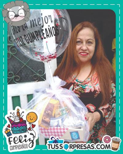 globos personalizados para una sorpresa de cumpleaños