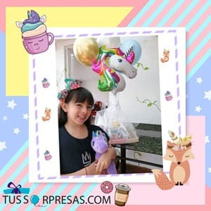 desayuno unicornio especial para niñas