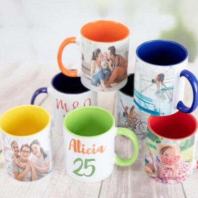 Mugs Color interno y Oreja-desayuno sorpresa