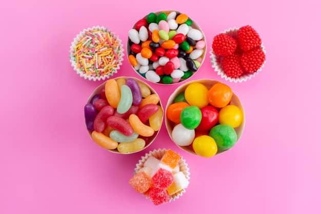cajas con dulces para regalar